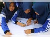 Ratusan Anak Yatim Ikuti Gebyar Rojabiyah