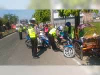 Razia Pagi, Sat Lantas Polres Bojonegoro Tindak 137 Pelanggar