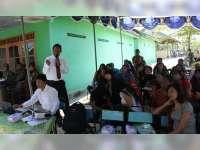 Warga Lokalisasi Jepon, Ikuti Sosialisasi Bahaya Penyalahgunaan Narkoba