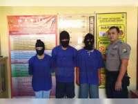 Polres Bojonegoro Tangkap Seorang Pengedar dan Dua Orang Pengguna Narkotika Jenis Sabu