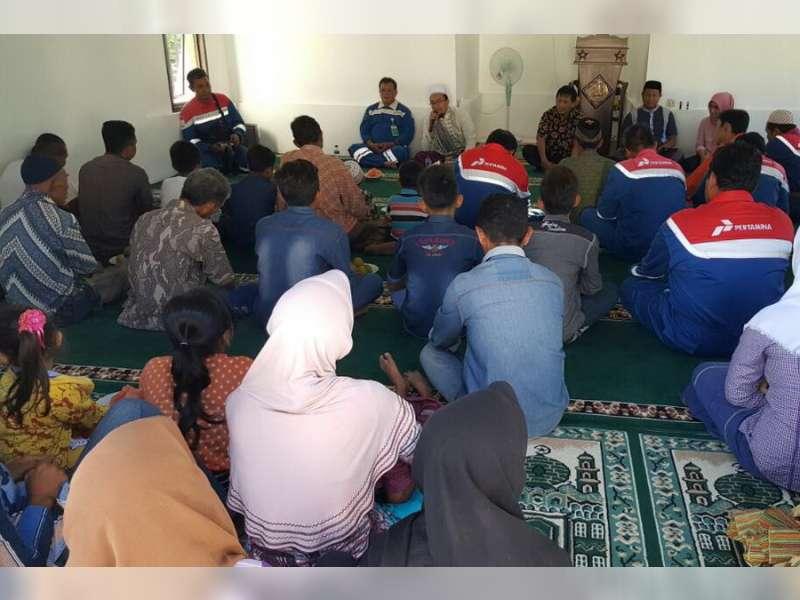Sambut Ramadhan, Para Pekerja Proyek JTB Gelar Doa Bersama Anak Yatim di Desa Bandungrejo