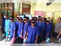 Polres Bojonegoro Titipkan 19 Tahanan Ke Rutan Bojonegoro