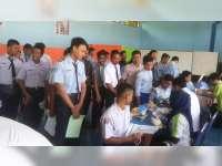 42 Sekolah Sejatim Ikut Tes Rekrutment AHM Honda di SMKN Baureno