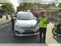 Selama Operasi Patuh Semeru 2017, Satlantas Polres Bojonegoro Tilang 1.959 Pelanggaran