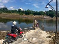 Biaya Pembuatan Jembatan dari Bambu Bisa Mencapai 8 Juta Rupiah