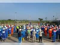 Upacara Peringatan Hari Lahir Pancasila di Lapangan Jambaran Tiung Biru (JTB)