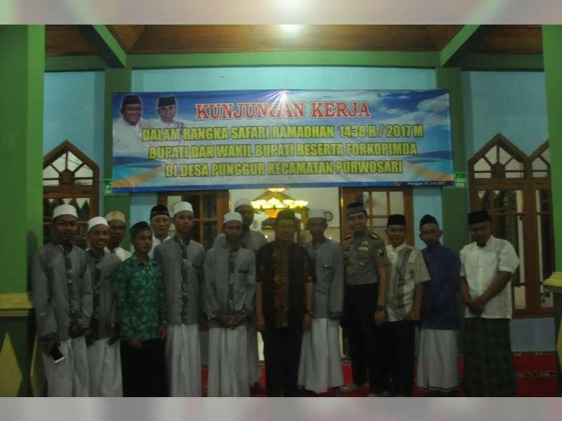 Kapolres Bojonegoro Hadiri Kunjungan Kerja dan Safari Ramadan Bersama Forpimda di Purwosari