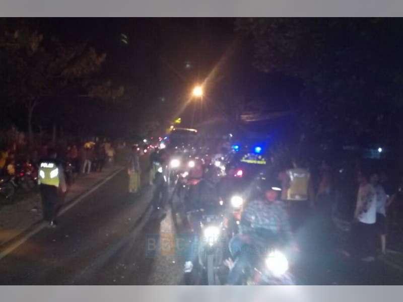 Kecelakaan Beruntun di Sumberrejo, Seorang Pengendara Motor Meninggal Dunia