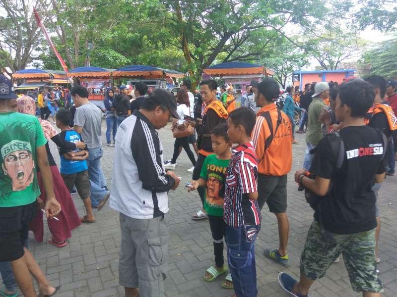 Ribuan Suporter Berbagai Daerah Bakal Penuhi Stadion Letjen H Sudirman