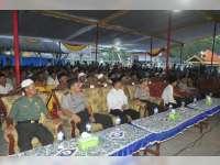 Kapolres Bojonegoro Hadiri Safari Ramadan Bersama Forpimda  di Sumuragung Baureno