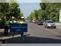 Polres Bojonegoro Akan Tindak Tegas Suporter Pelanggar Aturan Lalu Lintas