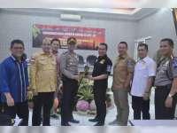 Kapolres Paparkan Kesiapan Pengamanan Arus Mudik kepada Komisi III DPR RI