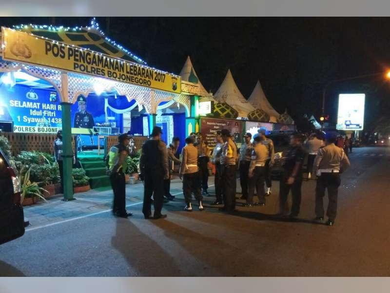 Tim Supervisi Biro Provos Divpropam Polri Cek Kesiapan Operasi Ramadniya Polres Bojonegoro