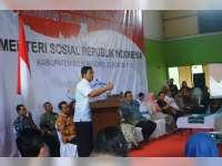 Bareng Mensos, Kuswiyanto Monev Penyaluran Bansos PKH Non Tunai