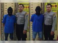 Anggota Sat Reskrim Polres Bojonegoro Tangkap 2 Orang Penombok Judi Dadu