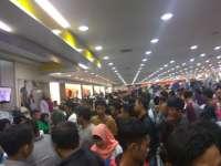 H-1 Lebaran Ratusan Masyarakat Serbu Pusat Perbelanjaan