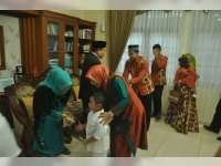Kapolres Bojonegoro Ajak Seluruh Pejabat Utama Halal Bihalal ke Bupati