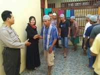 Polres Bojonegoro Gelar Halal Bihalal dengan Para Penghuni Rutan