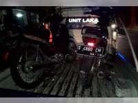 Dua Motor Supra Terlibat Kecelakaan di Madean, Tiga Orang Luka-Luka