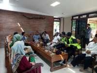 Kapolres Bersama Bupati dan Dandim, Silaturrahmi ke Rumah Mensesneg Yang Pulang Kampung