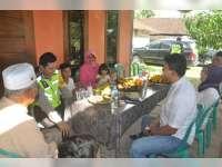 Kapolres Bertemu Kabareskrim yang Sedang Berkunjung ke Rumah Keluarganya di Bojonegoro