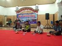 Halal Bihalal Pemuda Desa Semambung, Petugas Polsek Kanor Sosialisasi Kamtibmas