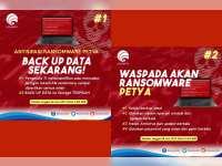 Inilah Langkah Antisipasi Serangan Ransomware Petya