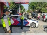 Kapolres Bojonegoro Turun Langsung ke Lapangan Pantau Jalan Rawan Kemacetan