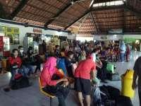 H+6 Lebaran Terjadi Lonjakan Penumpang di Terminal Rajekwesi