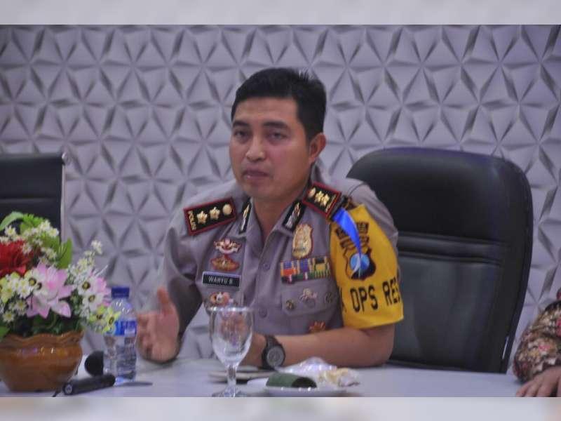 Kapolres Bojonegoro Tegaskan, Akan Tindak Suporter Persibo Pelanggar Aturan Lalu-Lintas