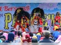 Festival Barongan Cilik Meriahkan Event Pakudjembara di Blora