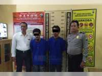 Polsek Baureno Titipkan 2 Tersangka Pencurian Burung ke Tahanan Polres Bojonegoro
