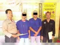 Polres Bojonegoro Limpahkan 2 Tersangka Kasus Sabu ke JPU Kejaksaan Negeri