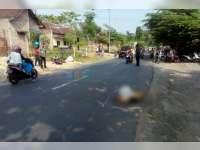 Honda CBR Tabrak Pejalan Kaki di Banjarsari Trucuk, Pejalan Kaki Meninggal Dunia