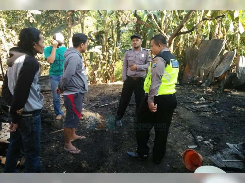 Gudang Kayu di Desa Pacul, Ludes Terbakar, Kerugian Diperkirakan Capai Rp 40 Juta