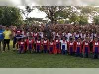 Bojonegoro Selection Menang Telak 4-0 Lawan Indonesia Muda