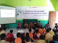 Bentengi Siswa dari Internet Negatif, EMCL dan Polres Kampanyekan Cerdas Bermedia Sosial