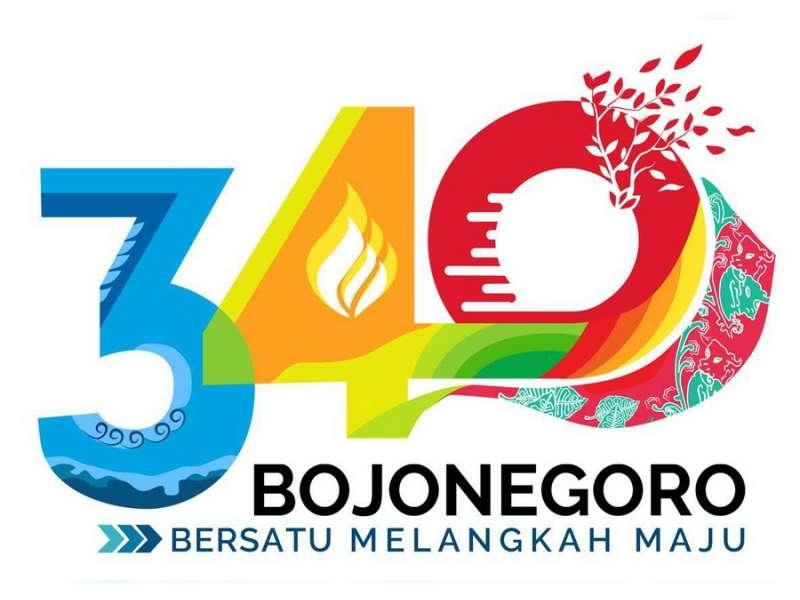 Logo Hari Jadi Kabupaten Bojonegoro ke-340 Resmi Dilaunching