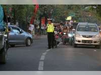 Polres Bojonegoro Kembali  Lakukan Razia di Jalan Veteran, 87 Pelanggar Ditindak Petugas
