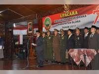 74 Anggota Paskibraka Kabupaten Blora Dikukuhkan Bupati Djoko Nugroho