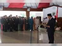Bupati Bojonegoro Kukuhkan 72 Anggota Paskibraka