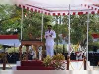 Usai Upacara Peringatan HUT RI ke-72, Bupati Blora Lantik Kades Terpilih Pilkades Serentak