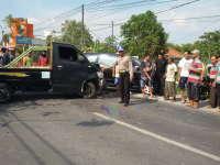 Kecelakaan Beruntun di Padangan, Seorang Pengendara Motor Meninggal Dunia
