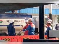Hari Ini, PT BBS Mulai Kirim Crude Oil Dari Sumur Tua Kedewan ke Pertamina