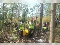 Seorang Warga Margomulyo Ditemukan Meninggal di Hutan