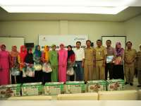 PT Pertamina EP Asset 4 Field Cepu Beri Pelatihan Manajemen ASI dan Posyandu