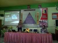 Kapolres Bojonegoro Berikan Binluh Narkoba Pada Guru-Guru SMPN 2