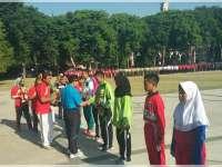 Ini Para Pemenang Lomba Gerak Jalan Peringatan HUT RI ke 72 di Bojonegoro