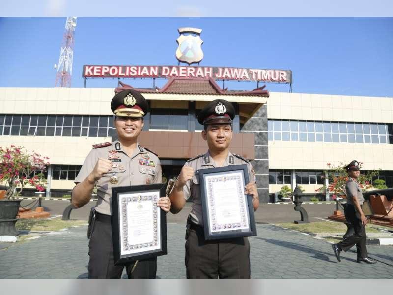 Anggota Polres Bojonegoro Terima Penghargaan Juara Kedua Polisi Teladan Polda Jatim