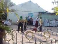 Upacara, Siswa SD Muhammadiyah  2 Bojonegoro Gelar Teaterikal Save Rohingnya